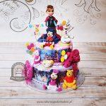 Tort bohaterowie bajek Disneyan