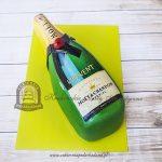 159BA Tort butelka szampana Moet Chandon Brut IMPERIAL