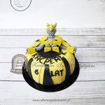Tort autorobot Transformers Bumblebee