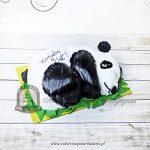Tort w kształcie pandy