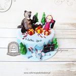 Tort zimowa Masza i Niedźwiedź