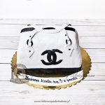 205BA Tort designerska torebka CHANEL