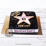 Tort Aleja Sław z Hollywood - gwiazda filmowa