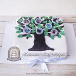 Tort drzewo genealogiczne ze zdjęciami