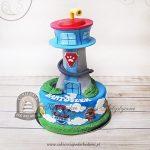Tort baza - wieża kontrolna Psi Patrol