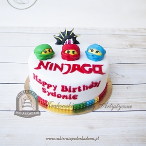 Tort z głowami LEGO Ninjago