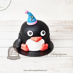 Tort pingwinek