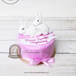 Tort z królikami na wieczór panieński
