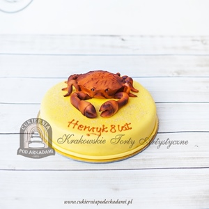 Tort w krabem