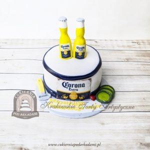 Tort piwo Corona