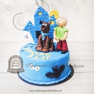 269BD Tort Scooby DOO i Kudłaty