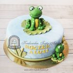 Tort z żabkami
