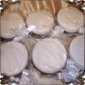 8  Mini torciki jako prezent dla gości białe klasyczne