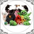 082 Opłatek Angry Birds Movie - film