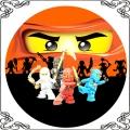 086 Opłatek Lego Niniago 4 wojowników, mistrzowie spinjitzu
