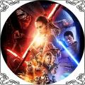 88 Opłatek star wars Przebudzenie mocy gwiezdne wojny