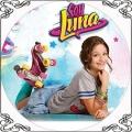 091 Opłatek Soy Luna z rolkami