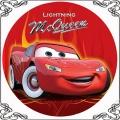 097 Opłatek Cars Zyg Zak Mcqueen czerwony