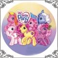 17 Kucyki Pony opłatek na tort
