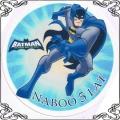 22 Opłatek na tort Batman