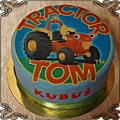 32 Tort traktor Tom  fototort cake