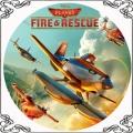 38 Opłatek Dusty samoloty Rescue Fire