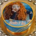 47 Tort z Merida Waleczna  z rudymi włosami