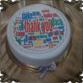 53 Tort dziękuje różne języki fototort thank you podziękowania