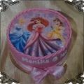 59 Tort księżniczki Disneya 3 księżniczki fototort