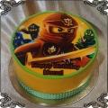 62 Tort lego niniago fototort czerwony