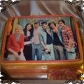 9 Tort z zespołem One Direction cake
