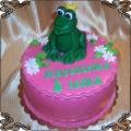 68 Tort dla dziecka z księżniczką zieliną żabką do pocałowania