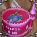 77 Tort Jej Wysokość Zosia  Sofia the First cake
