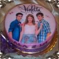 81 Tort dla nastolatki Violetta i przyjaciele na urodziny