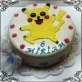 108 Tort dla dziecka Pokemon Pikachu Cukiernia Pod Arkadami Kraków