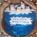 11 Tort z pingwinami z Madagaskaru  Cukiernia Pod Arkadami Kraków