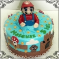 126 Tort Super Mario z figurką  Cukiernia Pod Arkadami Kraków