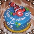 139 Tort z rybką Nemo z filmu gdzie jest Nemo