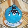 157 Tort kot na włóczce dla Franka na urodziny