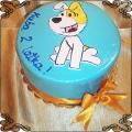 158 Tort pies Reksio dla Kuby na urodziny