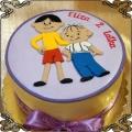 164 Tort Bolek i Lolek na drugie urodziny Elizy