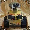 167 Tort  robot WALL-E przestrzenny na 7 urodziny dziecka
