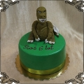 171 Tort Godzilla figurka z lukru ala dinozaur cake