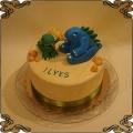 172 Tort Łapkozaury Dinopaws Cake dinozaury