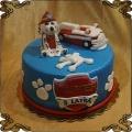 186 Tort psi Patrol Marshall dalmatyńczyk wóz strażacki