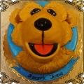 191 Tort Niedźwiedź w dużym niebieskim domu  Miś z błękitnego domu