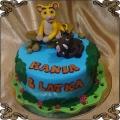 194 Tort Pumba i mały król lew