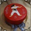 202 Tort i szkoła karate czarny pas sztuki walki sport