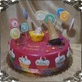209 Tort lody gałkowe babeczki lizaki słodycze kolorowy słodkości