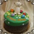 216 Tort Maka Paka  z bajki Dobranocny ogród CBeebies,  In the Night Garden cake